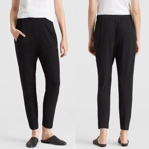 Eileen Fisher System Viscose Jersey Pant Sz Large
